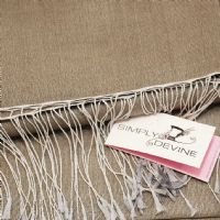 Taupe Pashmina by Simply Devine